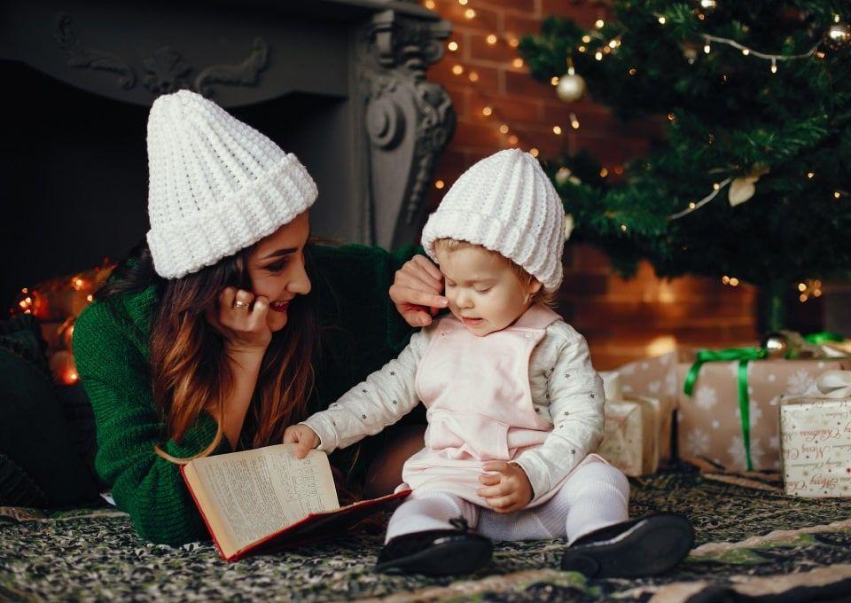 Χριστουγεννιάτικα βιβλία για μωρά